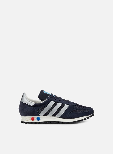 sneakers adidas originals la trainer og legend ink metallic silver night navy