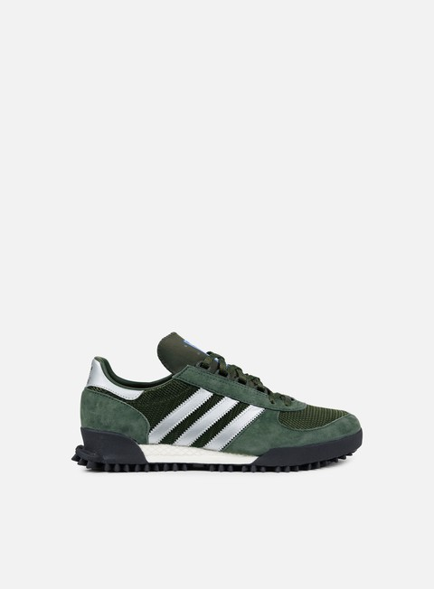 sneakers adidas originals marathon tr base green night cargo core black