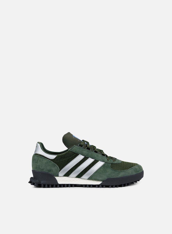 Derivación Más temprano bofetada  Adidas Originals Marathon Tr Men, Base Green Night Cargo Core Black |  Graffitishop