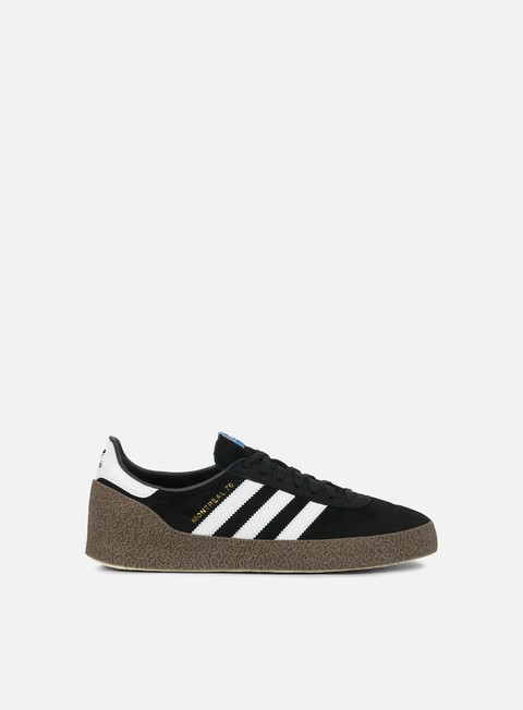 sneakers adidas originals montreal 76 core black white gold metallic