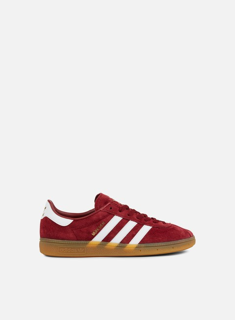 sneakers adidas originals munchen collegiate burgundy white gum