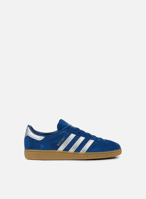 sneakers adidas originals munchen mystery blue matte silver white