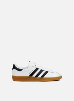 Adidas Originals - Munchen, White/Core Black/Gum
