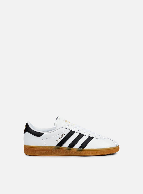 Adidas Originals - Munchen, White/Core Black/Gum