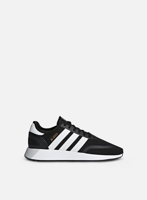 sneakers adidas originals n 5923 core black white grey one
