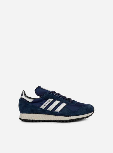 sneakers adidas originals new york dark blue matte silver collegiate navy
