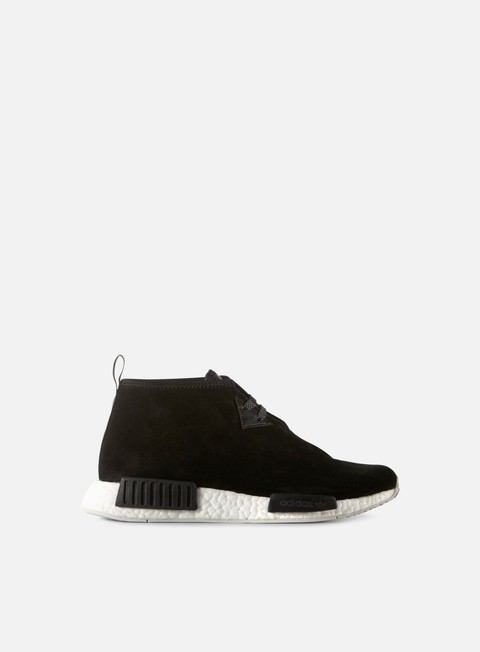 sneakers adidas originals nmd c1 core black core black chalk white