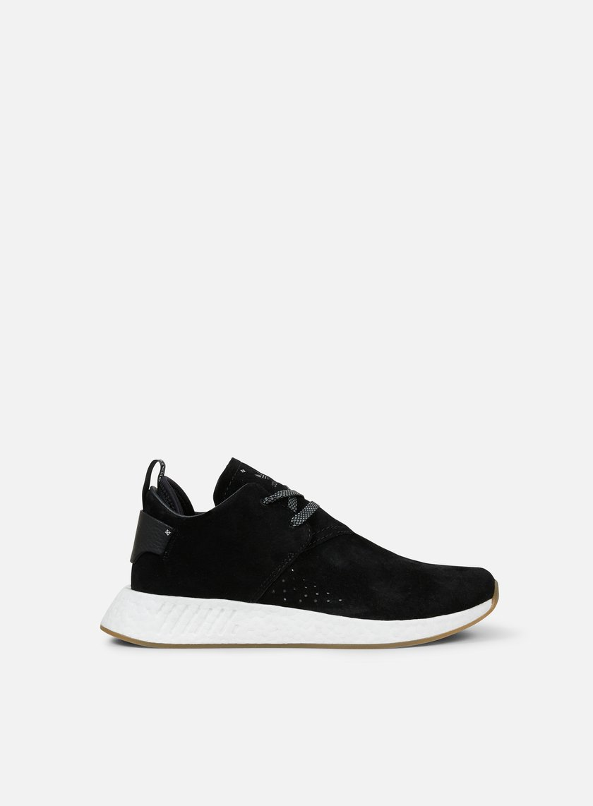 ... Adidas Originals - NMD C2, Core Black/Core Black/Gum 1 ...