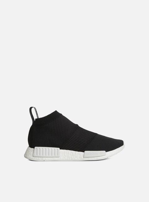 sneakers adidas originals nmd cs1 gtx primeknit core black core black white