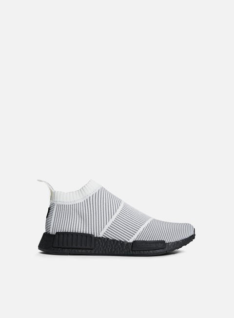 sneakers adidas originals nmd cs1 gtx primeknit core white core white core black