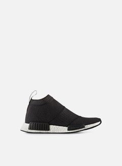 Adidas Originals - NMD CS1 Primeknit, Core Black/Core Black/White