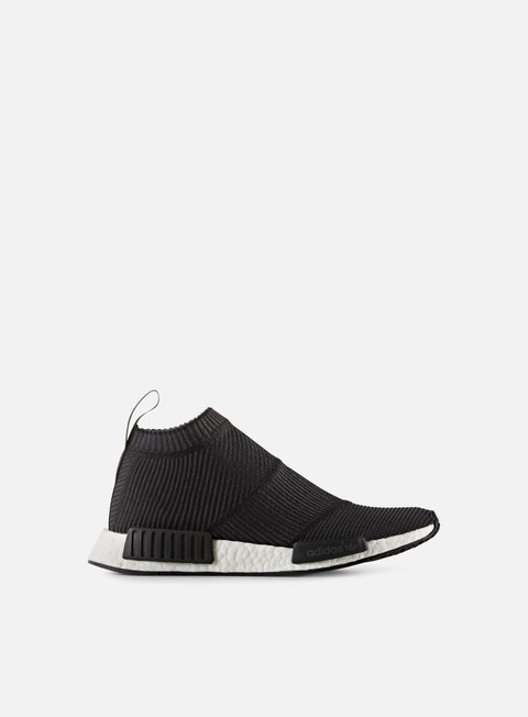 sneakers adidas originals nmd cs1 primeknit core black core black white