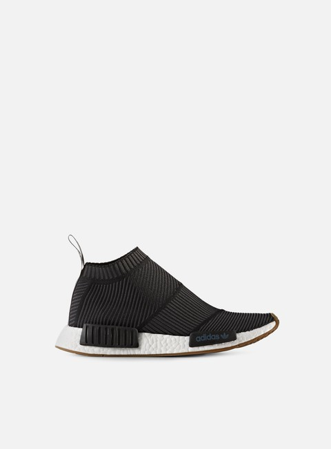 sneakers adidas originals nmd cs1 primeknit core black gum