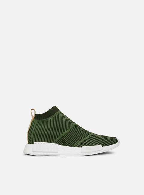 sneakers adidas originals nmd cs1 primeknit khaki olive white