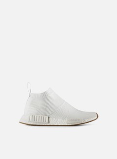 Adidas Originals - NMD CS1 Primeknit, White/Gum