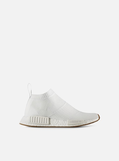 sneakers adidas originals nmd cs1 primeknit white gum