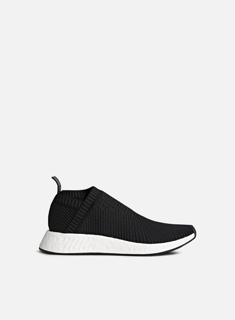 sneakers adidas originals nmd cs2 primeknit core black carbon red solid