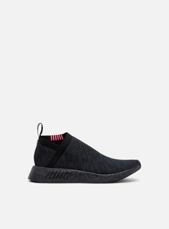 Adidas Originals - NMD CS2 Primeknit, Core Black/Carbon/Shock Pink