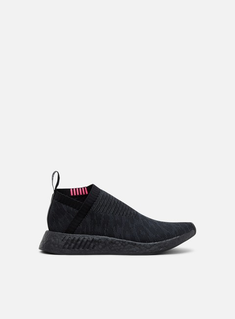 sneakers adidas originals nmd cs2 primeknit core black carbon shock pink
