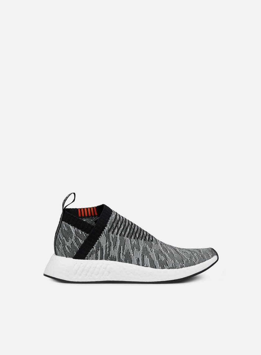 sneakers adidas originals nmd cs2 primeknit core black core black future  harvest