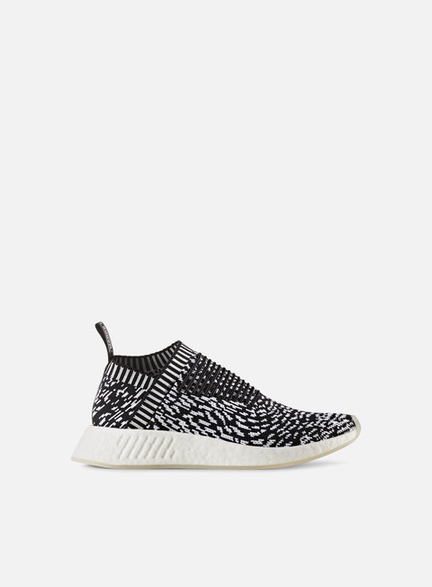sneakers adidas originals nmd cs2 primeknit core black core black white