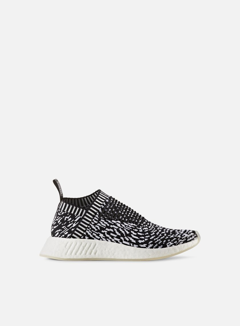 Adidas Originals - NMD CS2 Primeknit, Core Black/Core Black/White