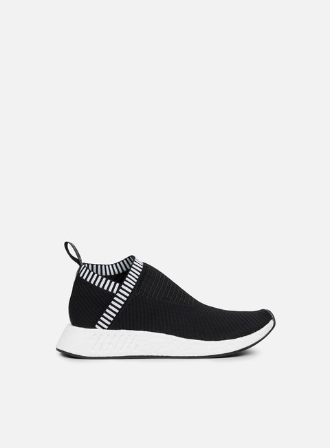 sneakers adidas originals nmd cs2 primeknit core black shock pink