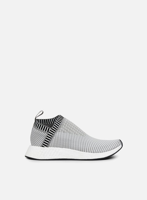 sneakers adidas originals nmd cs2 primeknit dark grey heather solid grey white shock pink