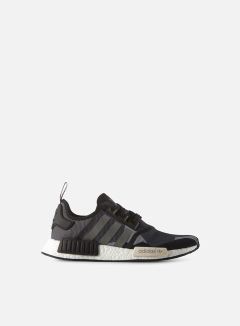 sneakers adidas originals nmd r1 core black core black chalk white