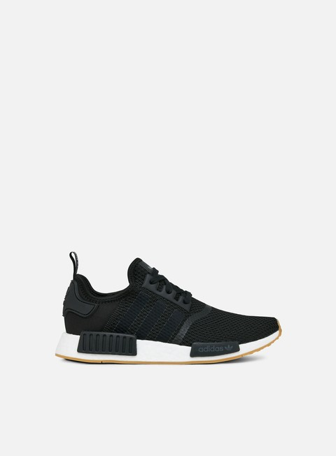 sneakers adidas originals nmd r1 core black core black gum