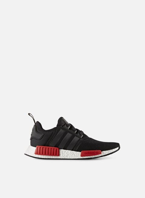 sneakers adidas originals nmd r1 core black core black white
