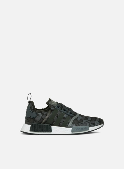 sneakers adidas originals nmd r1 core black grey four grey five