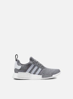 Adidas Originals - NMD R1, Dark Grey Heather Solid Grey/White