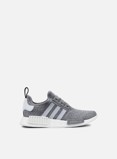 sneakers adidas originals nmd r1 dark grey heather solid grey white