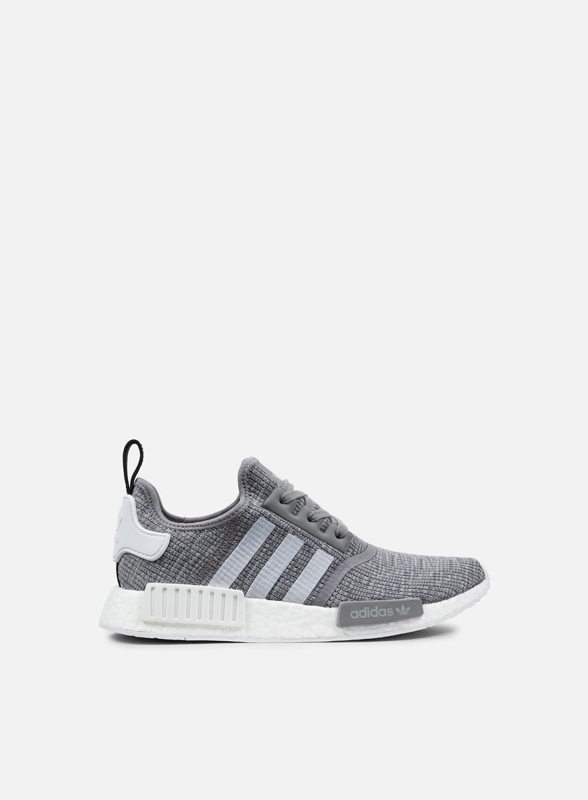 ... Adidas Originals - NMD R1, Dark Grey Heather Solid Grey/White 1 ...