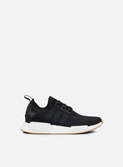 Adidas Originals - NMD R1 Primeknit, Core Black/Core Black/Gum