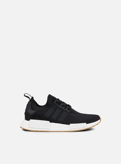 sneakers adidas originals nmd r1 primeknit core black core black gum