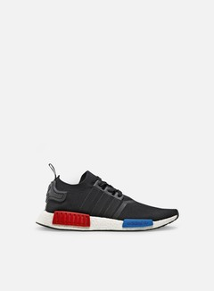 Adidas Originals - NMD R1 Primeknit, Core Black/Core Black/Red