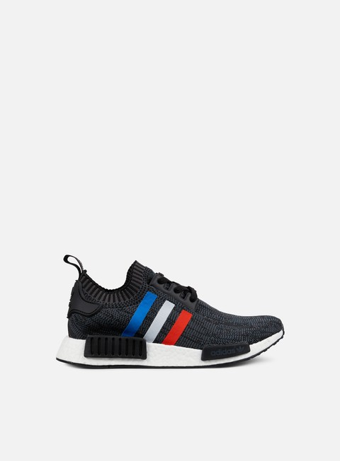 sneakers adidas originals nmd r1 primeknit core black core red white