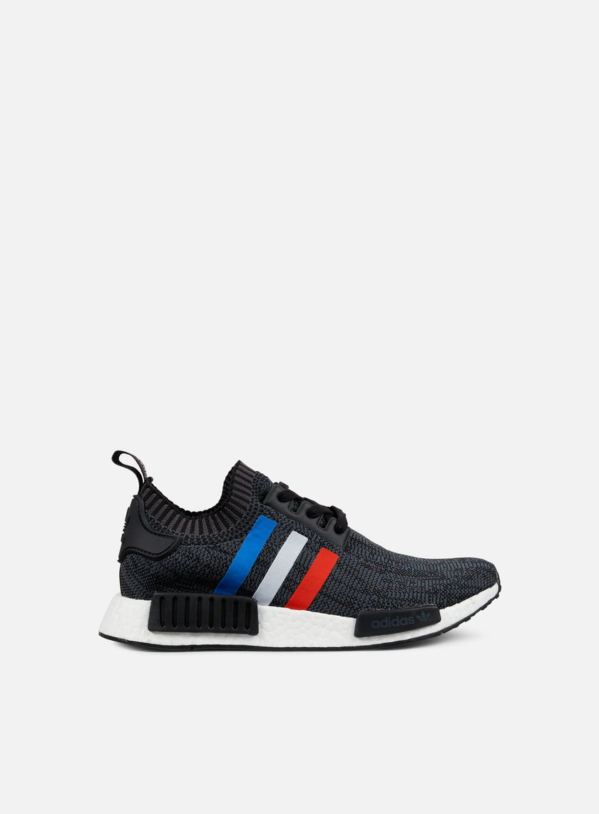 Adidas Originals - NMD R1 Primeknit, Core Black/Core Red/White