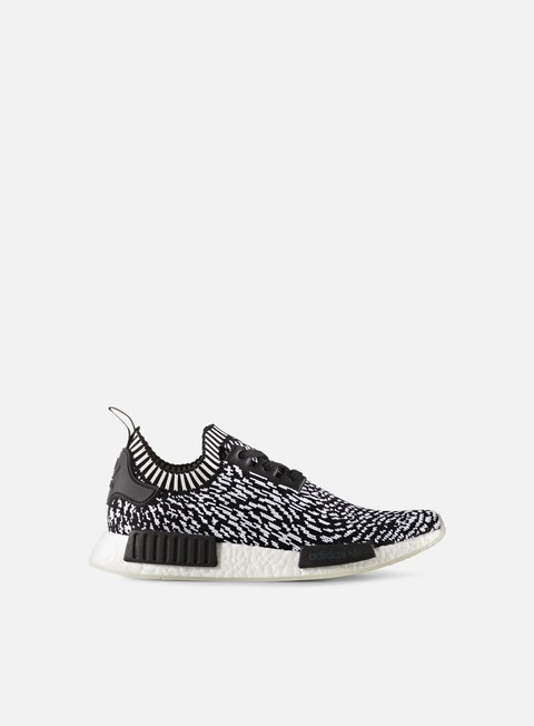sneakers adidas originals nmd r1 primeknit core black footwear white
