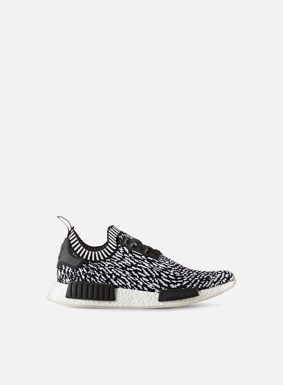 Adidas Originals - NMD R1 Primeknit, Core Black/Footwear White