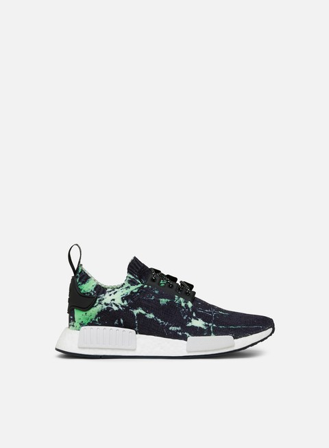 sneakers adidas originals nmd r1 primeknit core black ftwr white aero green