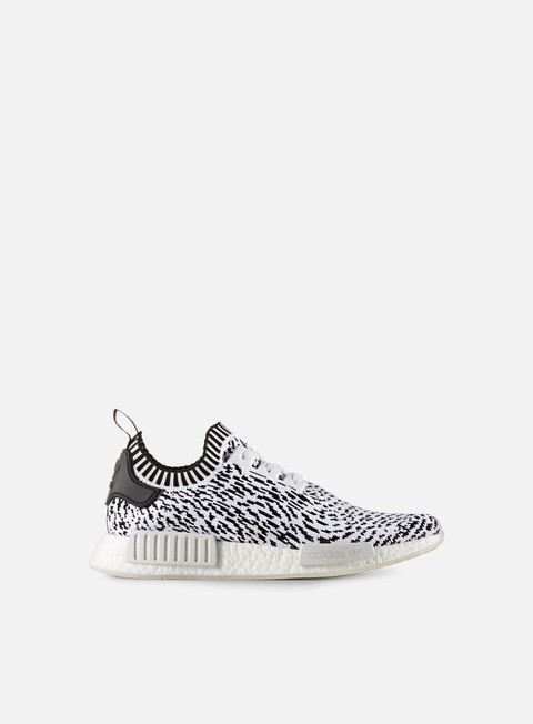 sneakers adidas originals nmd r1 primeknit footwear white core black
