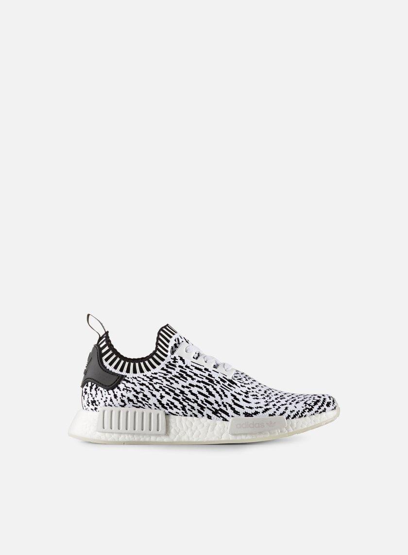 Adidas Originals - NMD R1 Primeknit, Footwear White/Core Black