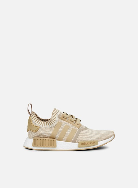 sneakers adidas originals nmd r1 primeknit linen khaki off white