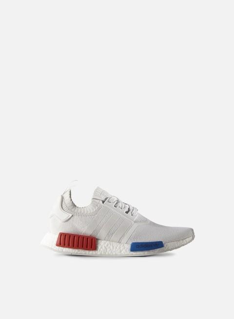 sneakers adidas originals nmd r1 primeknit vintage white vintage white lush red