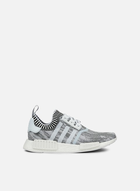 sneakers adidas originals nmd r1 primeknit white core black