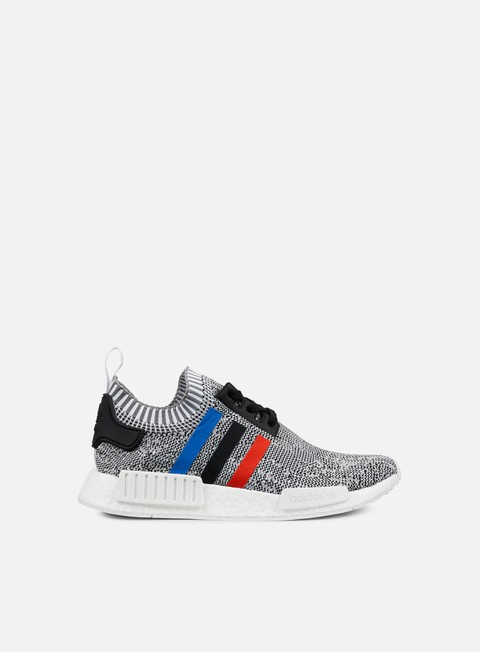 sneakers adidas originals nmd r1 primeknit white core red core black
