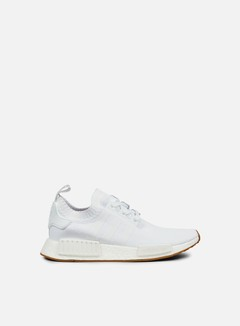 Adidas Originals - NMD R1 Primeknit, White/White/Gum